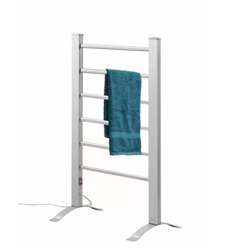 Electric bathroom towel rack