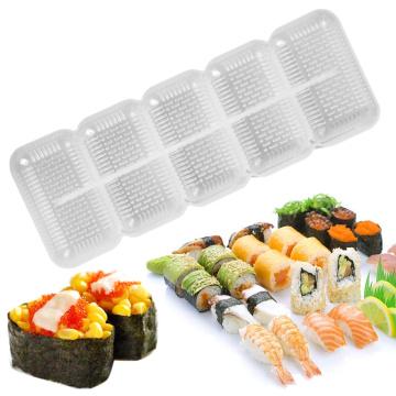 5pcs riangular Sushi Mold Onigiri Rice Ball Bento Press Sushi Maker Mould DIY Tools