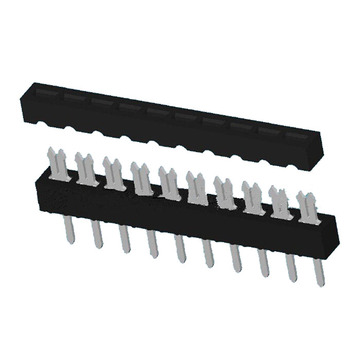 2.54MM IDC SOCKET SIMPLE TYPE ROW SINGLE