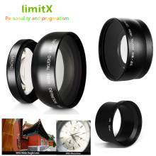 0.45X Super Wide Angle Lens with Macro & Adapter tube for Panasonic DMC-LX3 LX3 Digital Camera