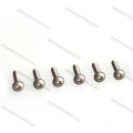 M3 customized Titanium Round Head Screws