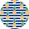 double size round watermelon beach towel cotton on