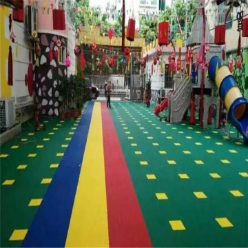 plastic floor for indooor sports court flooring tile
