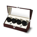 wooden automatic watch winder triple