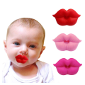 BPA Free Funny Lips Baby Pacifiers