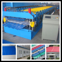 Double Color Sheet Roof Forming Machine