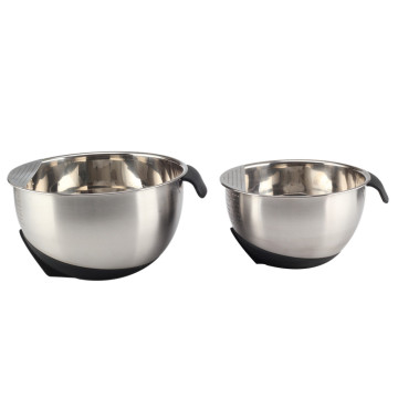Kitchenware Stainless Steel Hand Washing Rice Colander