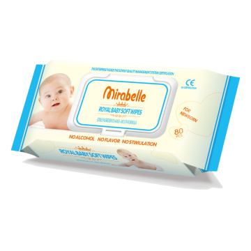 Natural Disposable Baby Tender Wet Wipes