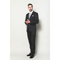 MEN'S WOVEN POLY VISCOSE JACQUARD SUITS