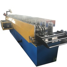 Light duty cable tray machine with cable extension