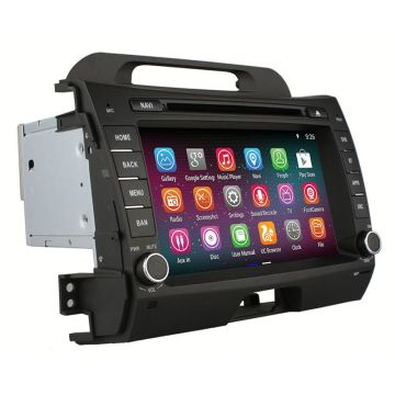 Factory price GPS stereo for Kia Sportage
