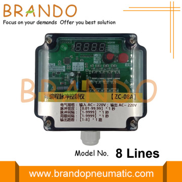 8 Lines Jet Pulse Controller For Dust Collector