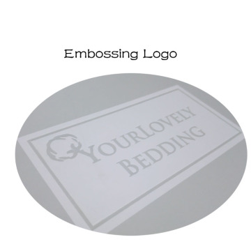 Grey Cardboard Ribbon Embossing Logo Gift Box