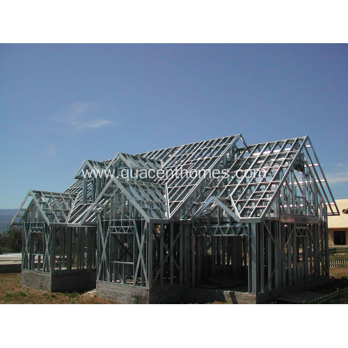 Fast Assembly High Quality Light Gauge Steel House
