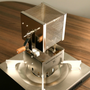 250G Far-Infrared Network Coffee Roaster Wood Hand Baked Beans 304 Stainless Steel Body Heat Evenly