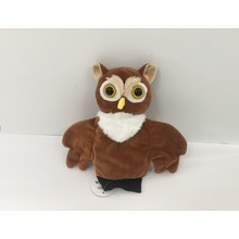 Plush Owl Handpuppet for Baby