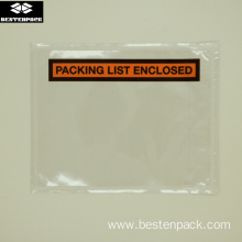 Packing List Envelope 4.5x5.5 inch Half Printed