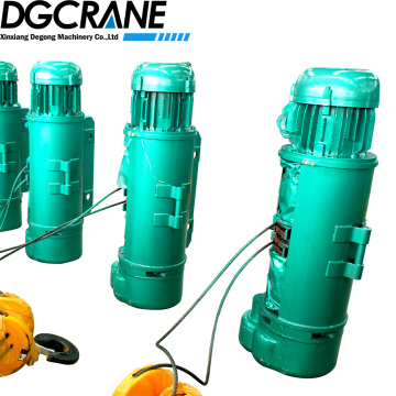 CD model electric wire rope lifting hoist 5ton
