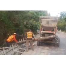 Off-road Wheeled Self-loading Beton Mixer
