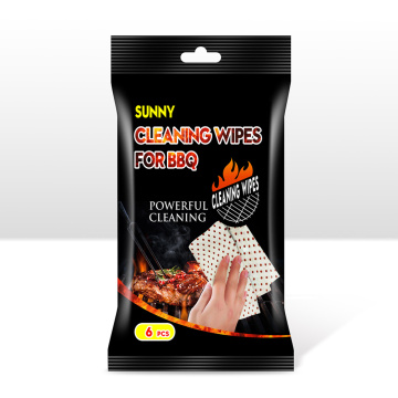Household BBQ Wipes for Outside Picnic