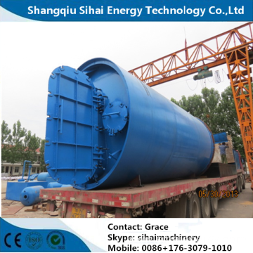 Pyrolysis Recycling Waste Tire To Furnace Oil Plant