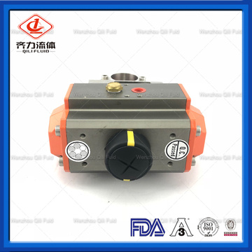 Sanitary Food Grade Electrically Actuated Butterfly Valves