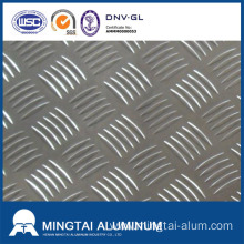 French aluminum supplier signed 100 tons of 5-series aluminum tread plates with Mingtai Aluminum