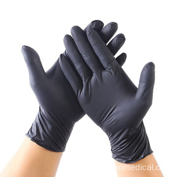 Disposable vinyl gloves first aid pvc nitrile gloves