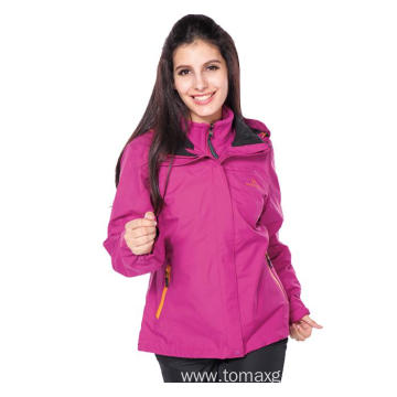 Lady PU transfer waterproofness Jacket