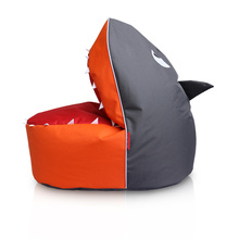 funny bean bag in shark animal bean bags