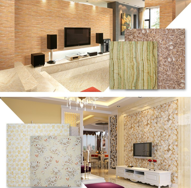 3D Interior Decoration marble Panel