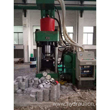 Hydraulic Metal Chips Briquette Press Making Machine