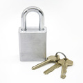 Safety Hardened Shackle Brass SFIC Padlock for Door