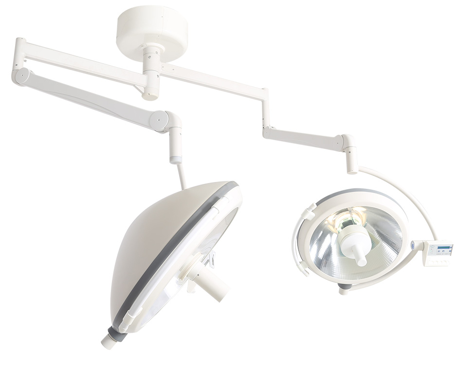 Center Camera Type Double Dome Halogen Operating Light