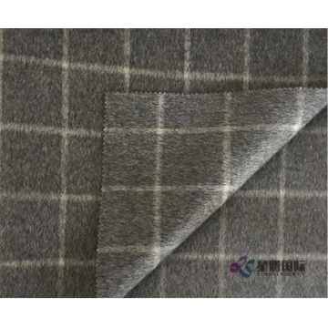 Classic Check Pattern 100% Wool Fabric