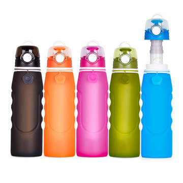 Outdoor camping filter water bottles | Silicone kettle