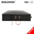 SOLOVOX V6S 5PCS mini HD Satellite TV Receiver DVB S2 Support Xtream Stalker M3U Brazil USB WiFi 3G 4G PowerVU Biss Key STB