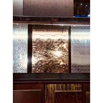 304 SS embossed decorative sheets