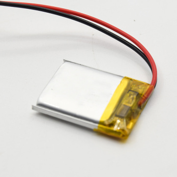 3.7v li-polymer battery 402035 Slim Lithium Battery