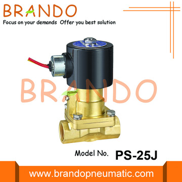 1 Inch Steam Brass Solenoid Valve PS-25 24VDC