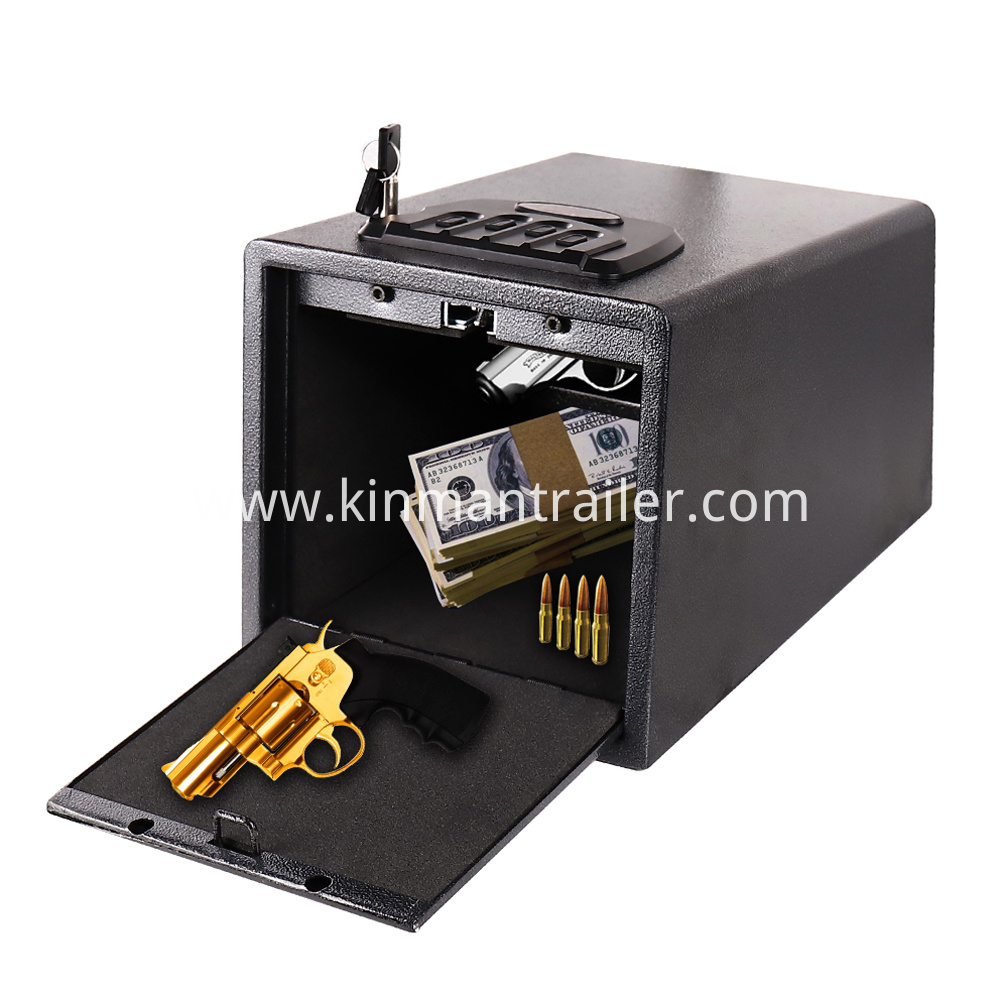 pistol safe trucks