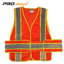 reflective safety vest with pockets