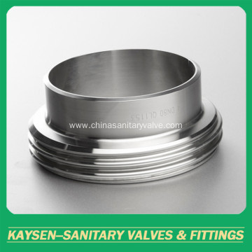 3A Sanitary unions long male pipe fittings