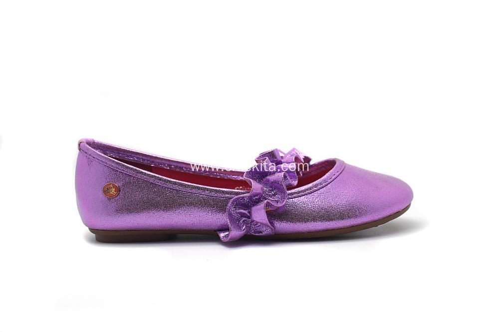 Girl's Elastic Lotus Leaf Edge Decoration Shoes