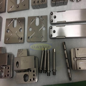 DLC coated automotive mold components positioning plate