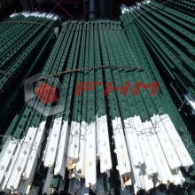 Galvanized Steel T Post Green Paint