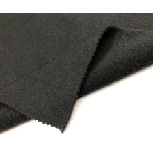 Hot sale T/C French Black KnittingTerry Brushed Fabric