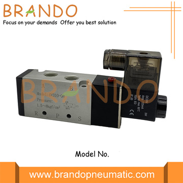 4V310-08 1/4'' 5/2 Way DIN Connector Pneumatic Valve