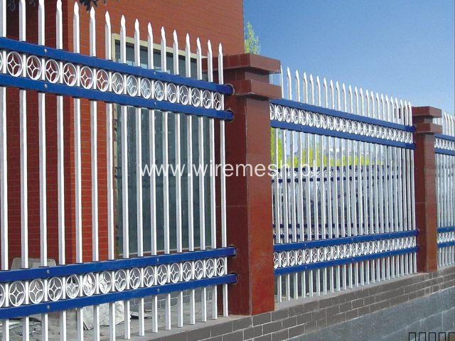 Used Zinc iron fencing for sale