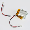 652533 500mAh li-polymer battery with PCM and connector